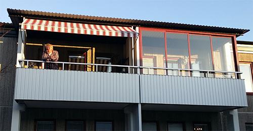 markis för balkong